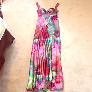 Beautiful & Colorful Prom Dress Size 6